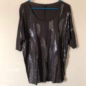 Express Sequin Shirt